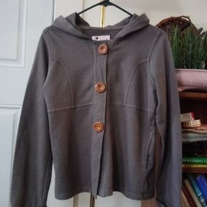 Brownie NY Super Cute Grey Button Down Jacket!